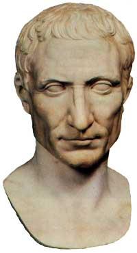 Gaius julius cäsar 100 44 v chr trug wie alle
