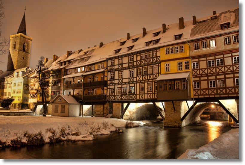 Architektur Erfurt brücken architektur technik geschichte